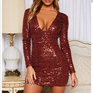 Oh Polly Sequin Dress